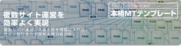 複数サイト運営を効率よく実現image