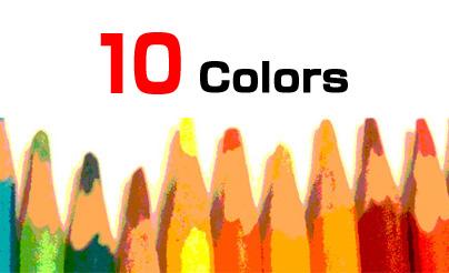 サイトテーマに適した10のカラーバリエーション